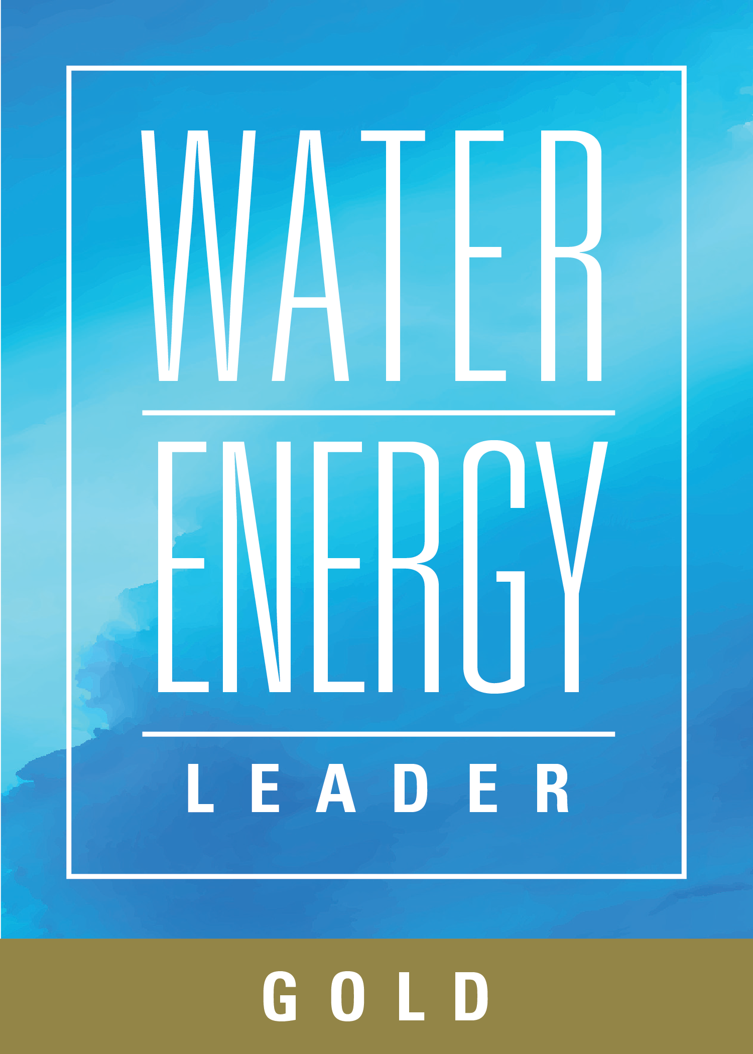 Water-Energy Leader Gold